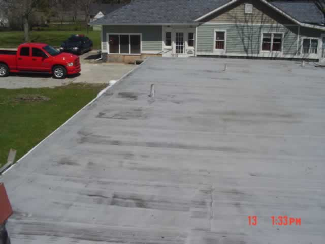 Flat Roof Before image